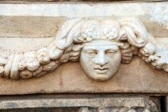 Masque grec de théâtre Images libres de droits