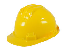 Masque jaune Image libre de droits