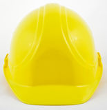 Masque jaune classique Images stock