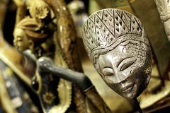 Masque Javanese classique photo libre de droits