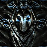 Masque métallique Image stock