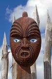 Masque maori du Nouvelle-Zélande photographie stock libre de droits