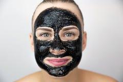 Masque noir Image stock