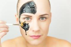 Masque noir Image libre de droits