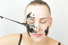 Masque noir Photographie stock libre de droits