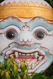 Masque protecteur d'un dieu thaïlandais Photo libre de droits
