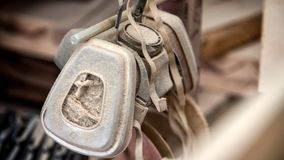 Masque protecteur du ` s de charpentier photo libre de droits