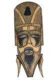 Masque protecteur en bois Photographie stock