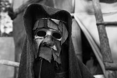 Masque rampant de Halloween Masque d'horreur images libres de droits