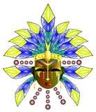 Masque rituel Image stock