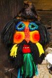 Masque roumain traditionnel image libre de droits