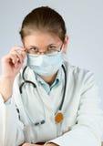Masque s'usant de docteur photos stock