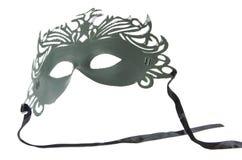 Masque sur le fond d'isolement par blanc Photographie stock libre de droits