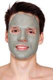Masque sur le visage Photos libres de droits