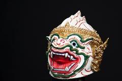 Masque thaï indigène de type, Khon. Images stock