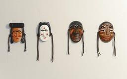 Masque traditionnel coréen Photos libres de droits