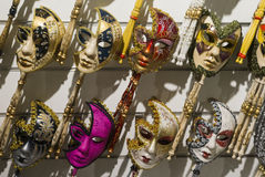 Masque traditionnel de Venise Photos stock