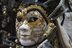 Masque traditionnel de Venise Image libre de droits