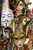 Masque traditionnel de Venise Images libres de droits