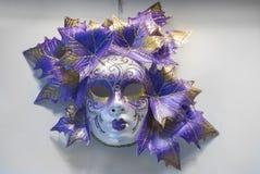 Masque traditionnel de Venise Photos libres de droits