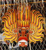 Masque traditionnel du diable Photos stock