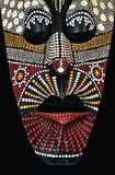 Masque tribal africain photographie stock