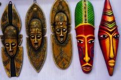 Masque tribal coloré indien Images libres de droits