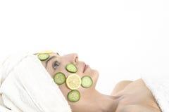Masque végétal Photos stock