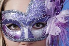 Masque vénitien Photographie stock