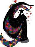 Masque vénitien illustration stock