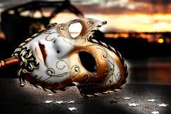 Masque vénitien Images libres de droits