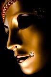 Masque vénitien décoré image stock