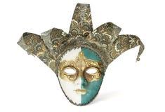 Masque vénitien de carnaval Photographie stock