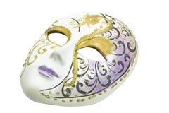 Masque vénitien de carnaval fait en céramique Images libres de droits