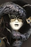 Masque vénitien de carnaval, Venise Images stock