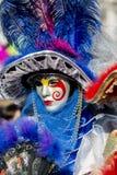 Masque vénitien traditionnel de carnaval Photo libre de droits