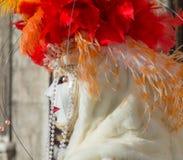 masque Venise de carnaval Le carnaval de Venise est un festival annuel tenu à Venise, Italie Le festival est mot célèbre pour son photographie stock libre de droits