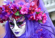masque Venise de carnaval Le carnaval de Venise est un festival annuel tenu à Venise, Italie Le festival est mot célèbre pour son image stock