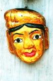 Masque vietnamien de marionnette de l'eau photographie stock