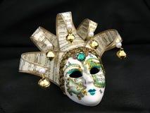 Masque vénitien décoré Image libre de droits