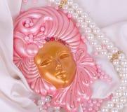 Masque vénitien pour le carnaval Photos libres de droits
