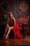 Masquerade замка стоковое фото rf