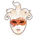 Masquerade. Highly detailed masquerade style mask. All elements on seprate layers, esily edited