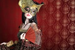 Masquerade Stock Photo