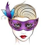masquerade Imagem de Stock Royalty Free