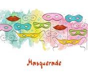 masquerade Fotos de archivo