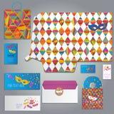 Masquerade card or invitation stock illustration