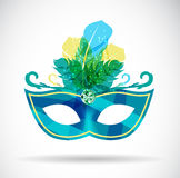 Masquerade Carnival Mask Icon Vector Illustration Royalty Free Stock Photography