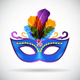 Masquerade Carnival Mask Icon Vector Illustration Royalty Free Stock Photo