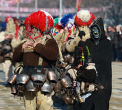 Masquerade festival Surva in Pernik, Bulgaria Royalty Free Stock Photos